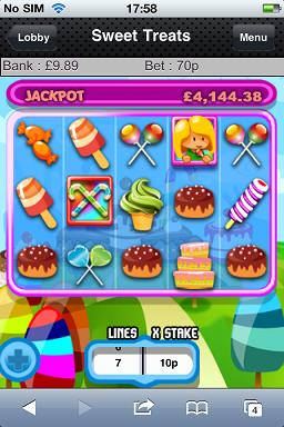 Sweet Treats Mobile Slots